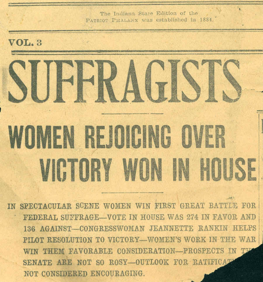 factors leading to womens suffrage essay